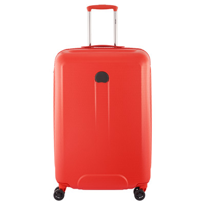 Delsey Helium Air 2 4 Wheel Trolley Case 70 cm Orange