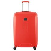 Delsey Helium Air 2 4 Wheel Trolley Case 70 cm Orange
