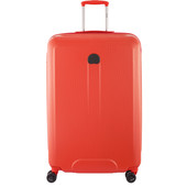 Delsey Helium Air 2 4 Wheel Trolley Case 76 cm Orange