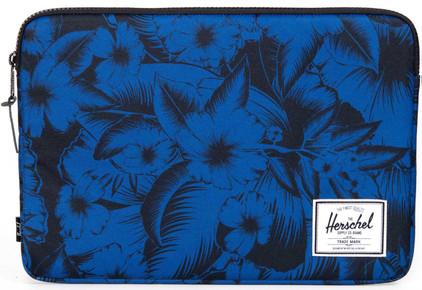 """Herschel Anchor Sleeve 15"""" Jungle Floral Blue"""
