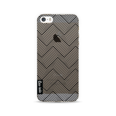 Image of Casetastic Softcover Apple iPhone 5/5S/SE Braided Lines
