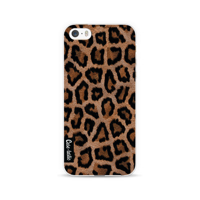 Image of Casetastic Softcover Apple iPhone 5/5S/SE Leopard