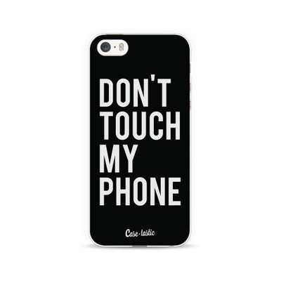 Image of Casetastic Softcover Apple iPhone 5/5S/SE Don't Touch My Phone