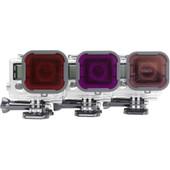 Polar Pro Filterkit rood, magenta en polarisatie voor GoPro