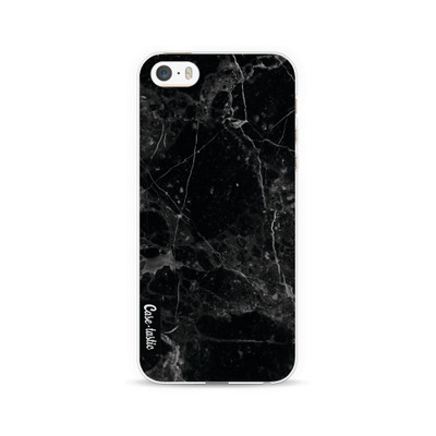 Image of Casetastic Softcover Apple iPhone 5/5S/SE Black Marble
