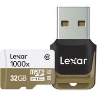 Lexar microSDHC Professional 32GB 1000x UHS-II
