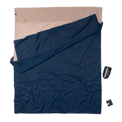 Image of Cocoon Egyptian Cotton Travelsheet Double Khaki/Tuareg