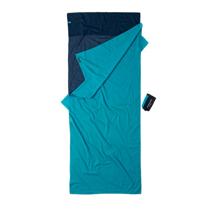 Cocoon 100% Egyptian Cotton Travelsheet Tuareg/Blue
