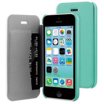 BeHello Book Case Apple iPhone 5C Groen