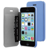BeHello Book Case Apple iPhone 5C Blauw