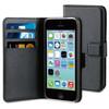 BeHello Wallet Case Apple iPhone 5C Zwart