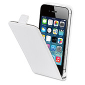 BeHello Flip Case Apple iPhone 4/4S Wit