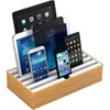 Alldock Docking Station Large Bamboe Wit