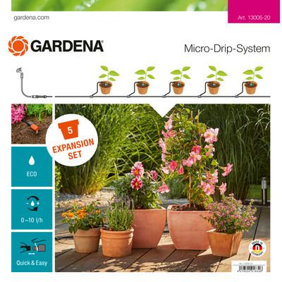 Gardena Micro Drip Uitbreidingsset Terras/Balkon