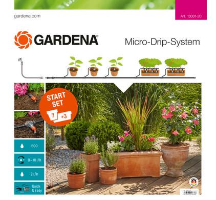 Gardena Micro Drip Start Set M Bloembakken
