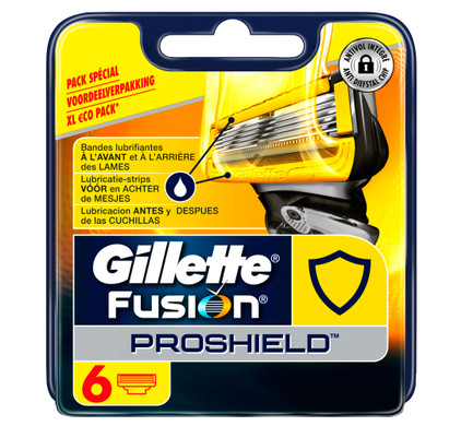 6x Gillette Fusion ProShield