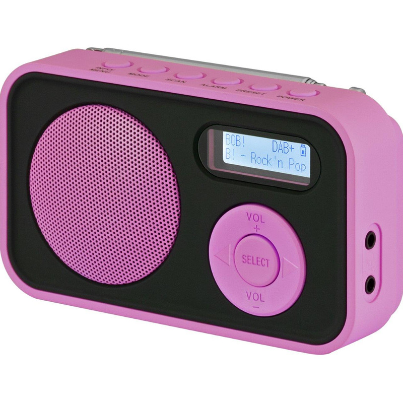 Imperial DAB+ radio Transistorradio herlaadbaar Roze