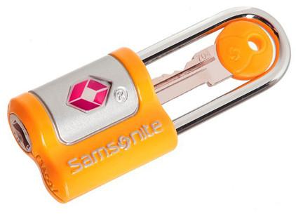 Samsonite Key Lock Orange