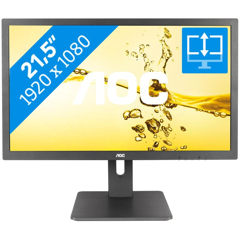 AOC Dis 21,5 AOC E2275PWJ 16:9,2ms,VGA,DVI,HDMI,Sp,Pivot (E2275PWJ)