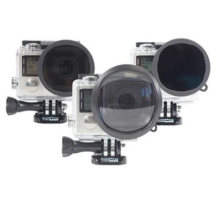ThreePack Filter kit Pol, ND, Macro voor GoPro