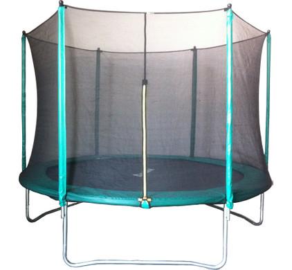 Trampoline 183 cm met veiligheidsnet en groene rand