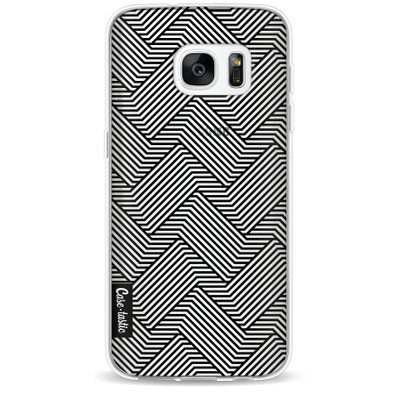 Casetastic Softcover Samsung Galaxy S7 Braided Lines