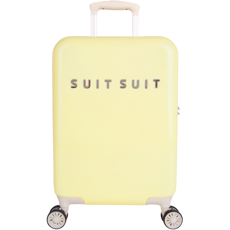 SUITSUIT Koffers Suitcase Fabulous Fifties 20 inch Spinner Geel