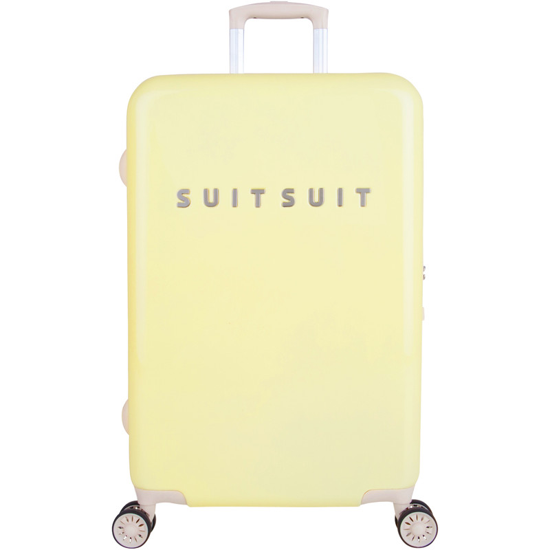 SUITSUIT Koffers Suitcase Fabulous Fifties 24 inch Spinner Geel