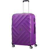 American Tourister Crystal Glow Spinner TSA 76 cm Deep Purple