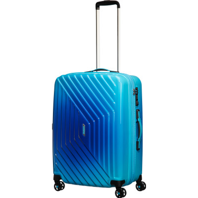 Image of American Tourister Air Force 1 Expandable Spinner TSA 66 cm Gradient Blue
