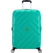 American Tourister Crystal Glow Spinner TSA 66 cm Aqua Turquoise