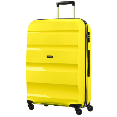 Image of American Tourister Bon Air Spinner L Solar Yellow