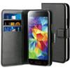 BeHello Wallet Case Samsung Galaxy S5 Mini Zwart