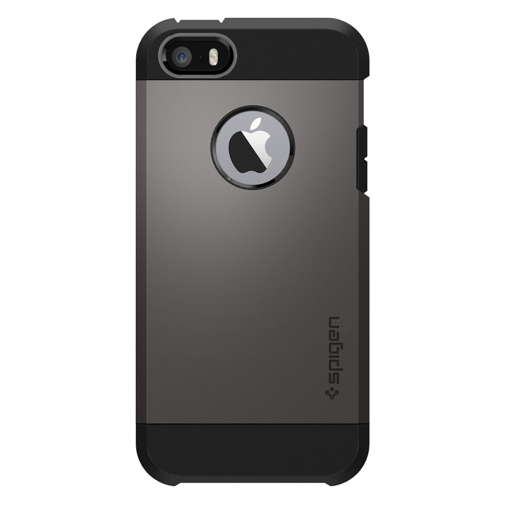 Spigen iPhone Backcover Geschikt voor model (GSM's): Apple iPhone 5, Apple iPhone 5S, Apple iPhone S