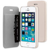 BeHello Book Case Apple iPhone 5/5S/SE Beige