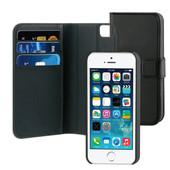 BeHello 2-in-1 Wallet Case Apple iPhone 5/5S/SE Zwart