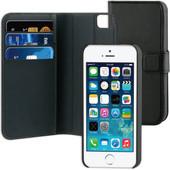BeHello Wallet Case Apple iPhone 5/5S/SE Zwart