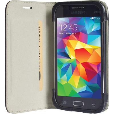 Krusell Malmo Book Case Samsung Galaxy J1 Zwart