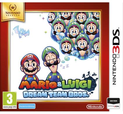 Mario & Luigi: Dream Team Bros. Select 3DS