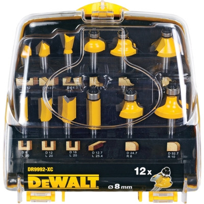 Image of DeWalt 12-delige Frezenset DT90016-QZ