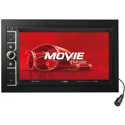 Image of Caliber Audio Technology RMD 801BT Autoradio met scherm dubbel DIN 4 x 75 W Bluetooth, USB, SD, Jackplug, Subwoofer