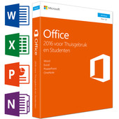 Microsoft Office Thuisgebruik en Studenten 2016 UK