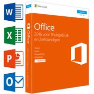 Microsoft Office Thuisgebruik en Zelfstandigen 2016 NL