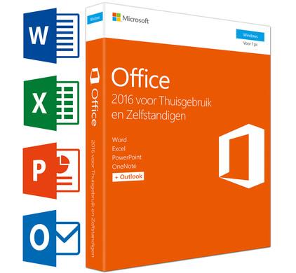 Microsoft Office Thuisgebruik en Zelfstandigen NL