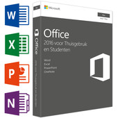 Microsoft Office Mac Thuisgebruik en Studenten 2016 UK
