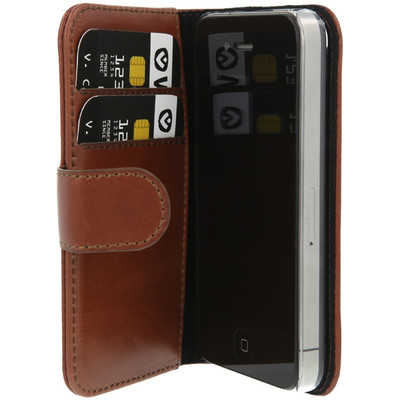 Valenta Booklet Classic Luxe Apple iPhone 4/4S Bruin