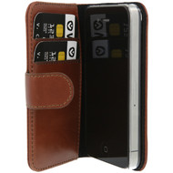 Valenta Booklet Classic Luxe Apple iPhone 4/4S Bruin