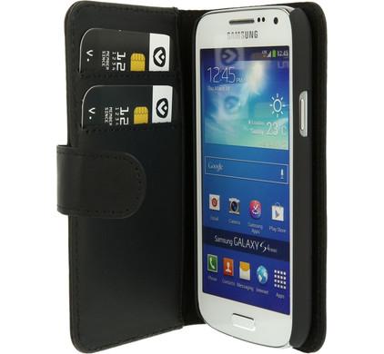 Valenta Booklet Classic Luxe Samsung Galaxy S4 Mini Zwart
