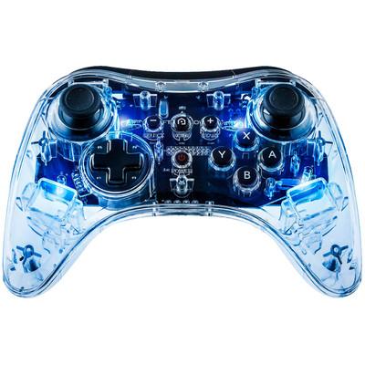 Image of Afterglow Wireless Controller Transparant, Blauw Geschikt voor: Nintendo Wii U