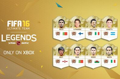 FIFA Legends in FIFA 17
